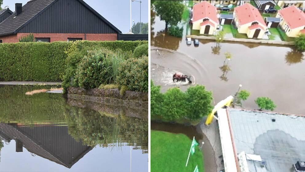 Montage översvämning
