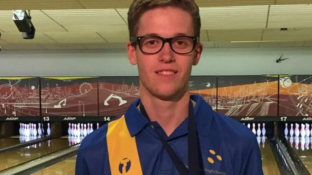Pontus Andersson från Nässjö var bäst i EM-semifinalen för Sverige, och gjorde 205 poäng i finalen.