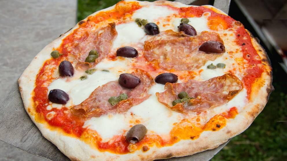pizza recept fyllning