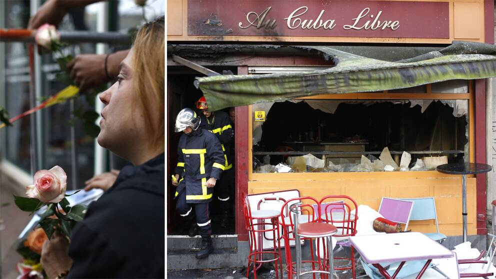 Fem brandman doda i varuhusbrand