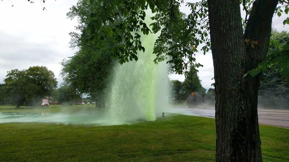 Vattenläckage