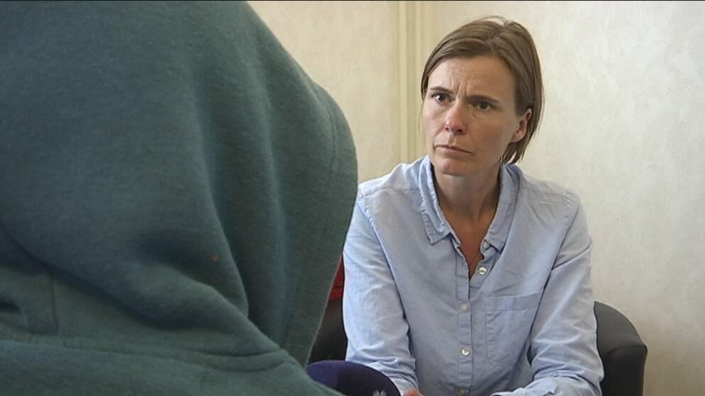 Flicka blev beskjuten i en by i Strömsunds kommun.