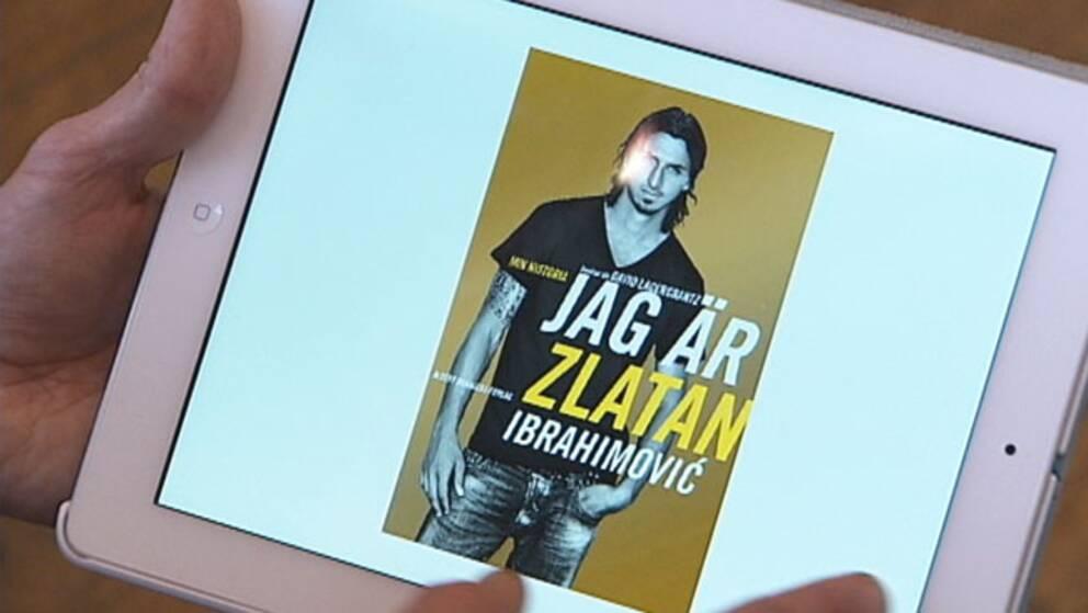 """E-bok – """"Jag är Zlatan""""."""