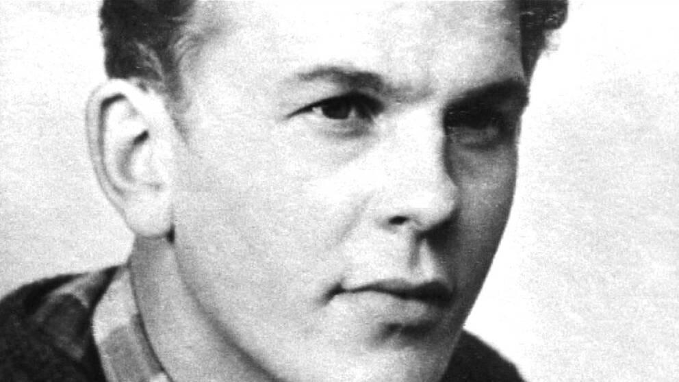 Thorbjörn Fälldin i unga år – då fotboll hörde till de starkaste fritidsintressena. IF Älgarna var klubben där han agerade tung centerförward.