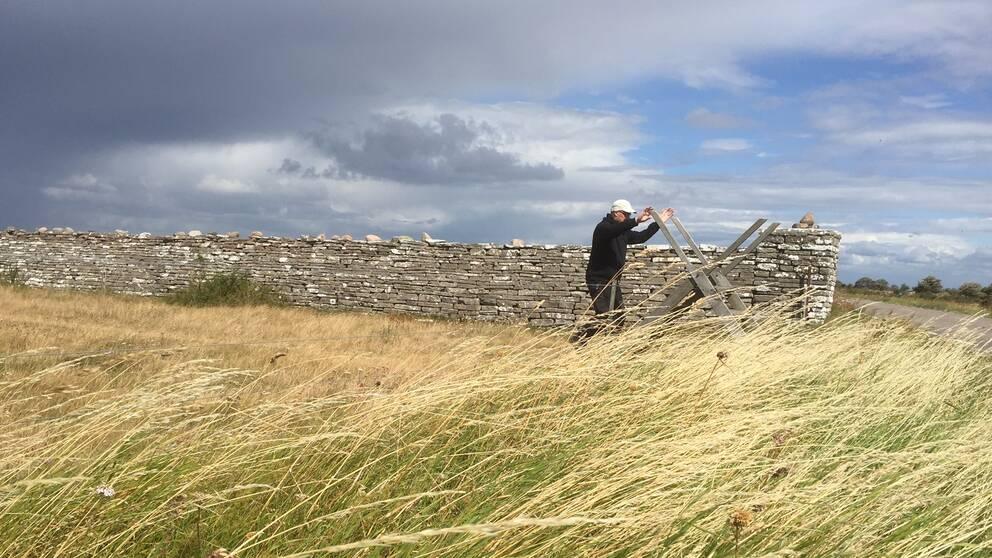 Snart kan man cykla mellan Karl den tiondes mur och Långe Jan.