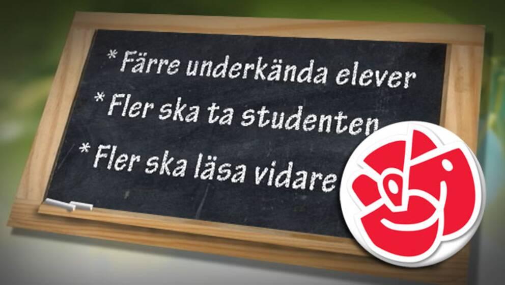 Socialdemokraternas skolpolitik