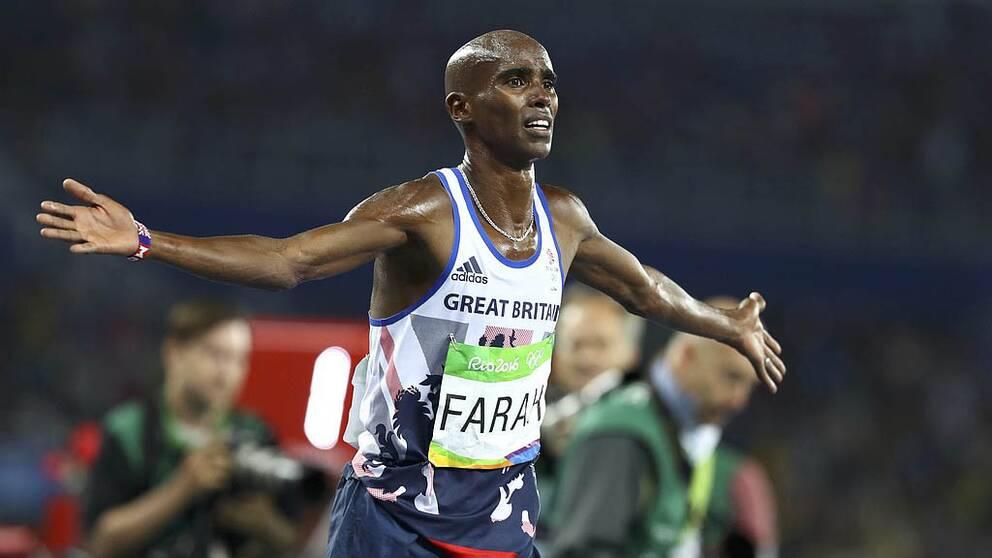 Farah försvarade sitt OS-guld.