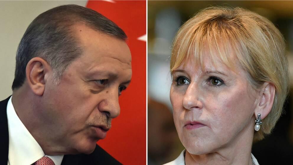 Erdogan och Wallström.