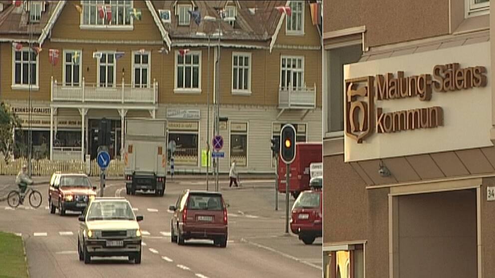 Kombobild Malung-Sälens kommun.