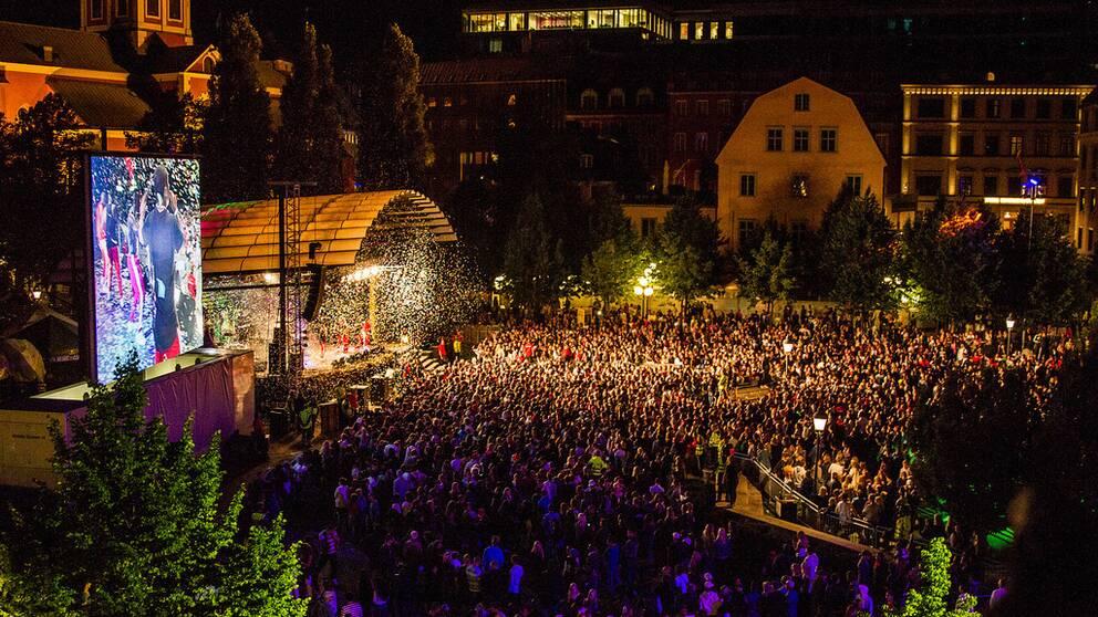 We Are Sthlm i Kungsträdgården i Stockholm.