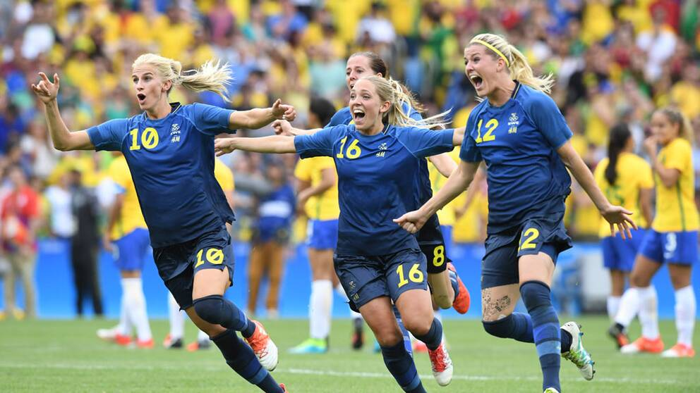 Sverige Brasilien OS 2016