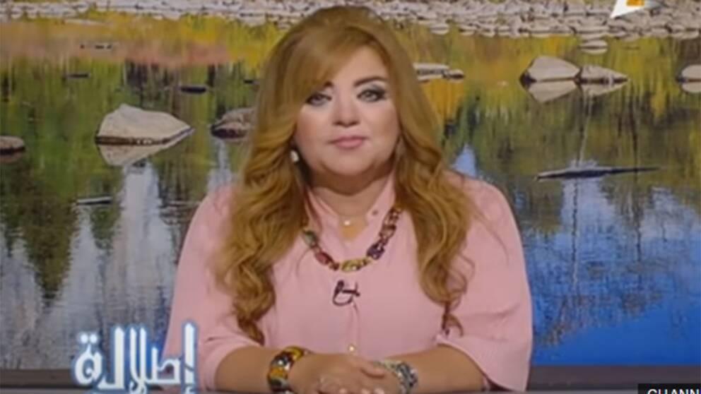 Khadija Khattab är en av de avstängda kvinnorna som tv-kanalen tvingar att banta, innan de får synas i rutan igen.