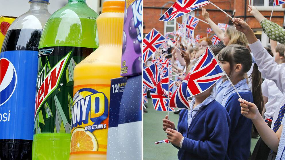 En tredjedel av brittiska barn mellan två och femton år är överviktiga och hälsodepartementet menar att sockerstinna drycker är den största sockerkällan för barn.