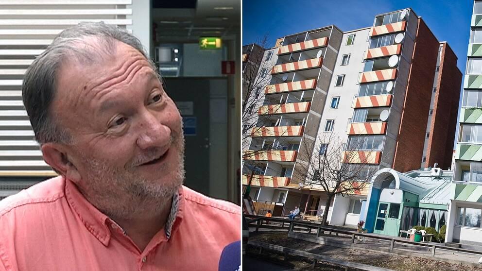 Apostolis Papakostas, professor i sociologi vid Södertörns högskola, ska lyfta förorter – som Ronna i Södertälje – i ny forskning.