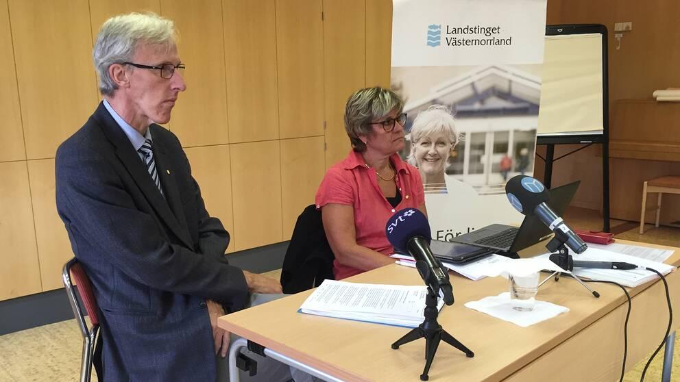 Presskonferens i Sollefteå