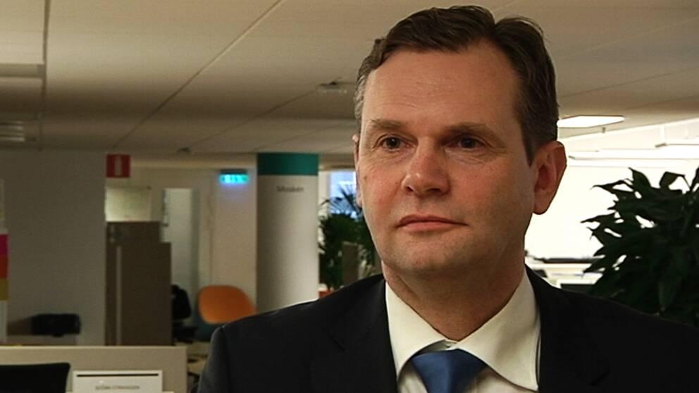 Patientmaktsutredningens ordförande Johan Assarsson.