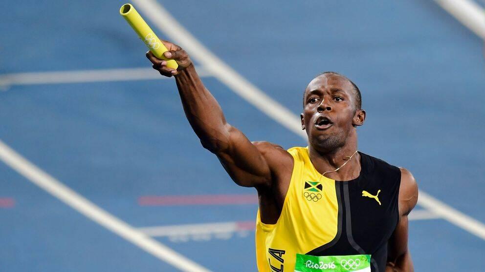 Usain Bolt har tagit sitt nionde och sista OS-guld.