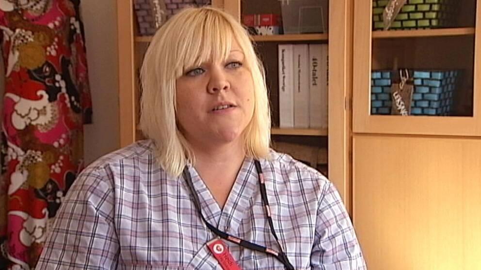 Sjuksköterskan Heidi Carnudd