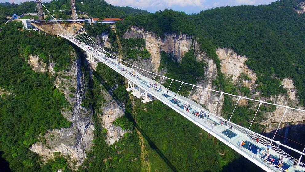 Världens längsta glasbro