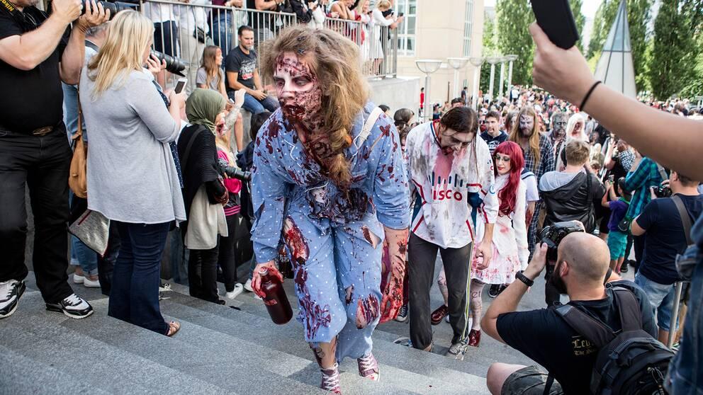 Stockholms Zombie Walk 2016