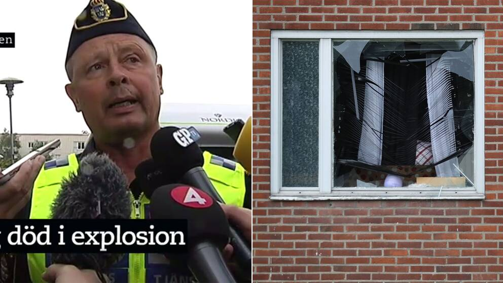 Polisen i Göteborg om explosionen i Biskopsgården