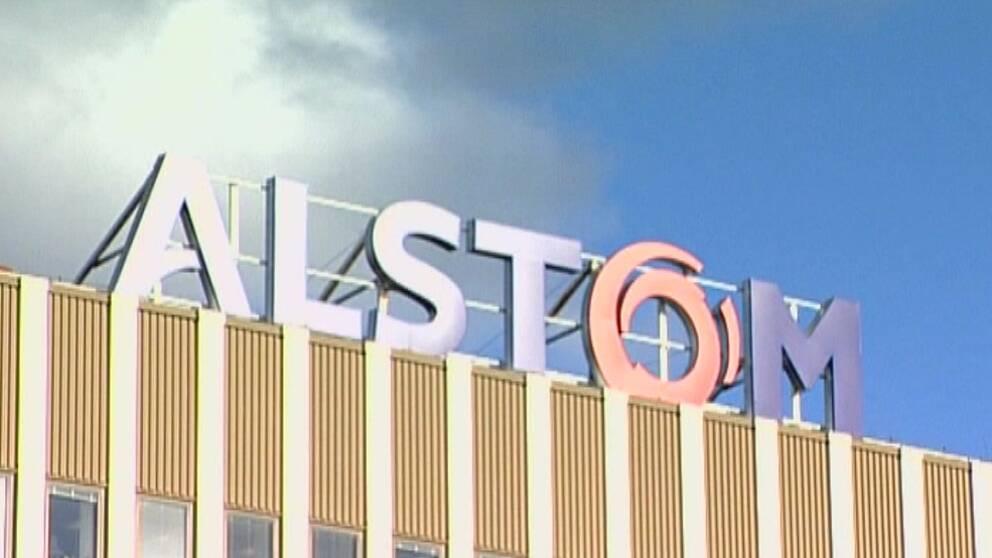 Alstom i Växjö.
