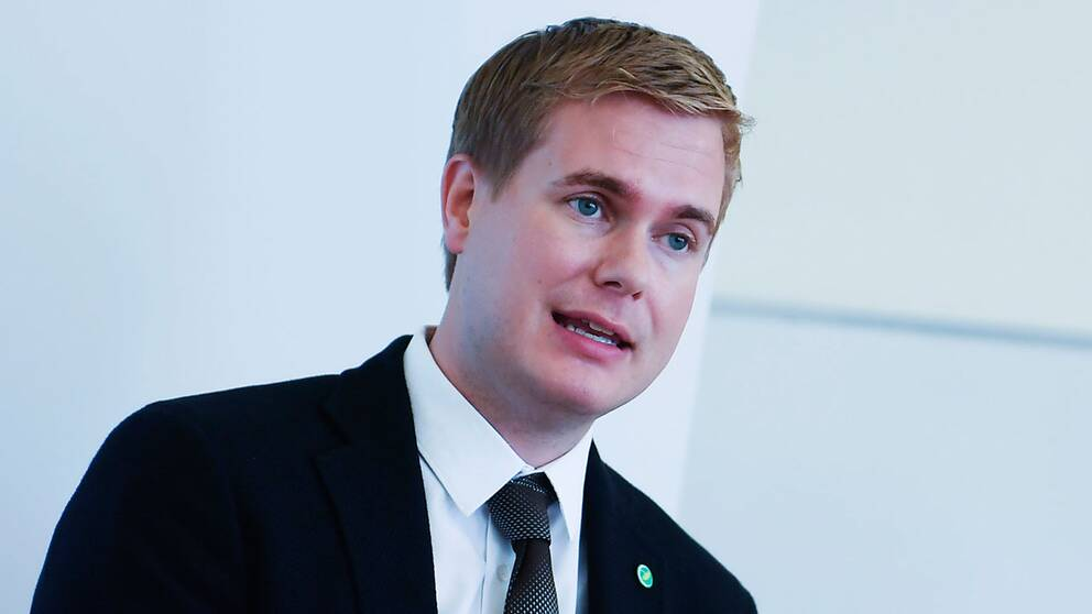 Utbildningsminister Gustav Fridolin (MP).