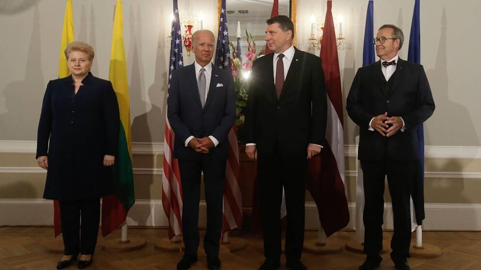 Trump lovar inte hjalp till baltikum