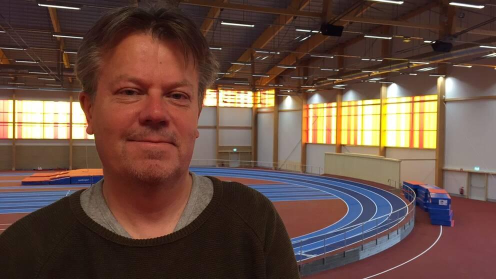 Tomas Östberg är vd för IFU Arena.