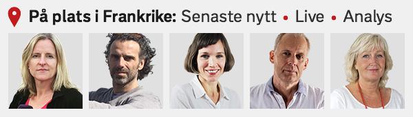 SVT Nyheter på plats i Frankrike